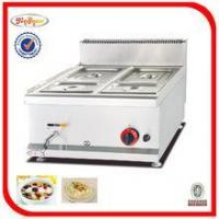 Quality stainless steel Counter top hot Gas Bain Marie(GH-584) for sale