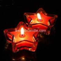 Quality Star Shape Tealight Candle Colorful Scented Romantic Lovely Gift for sale