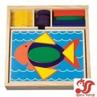 Quality Beginner Pattern Blocks Model No.: SY110915-2 for sale