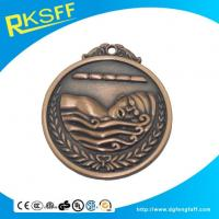 Buy cheap Zinc Alloy Swimming Copper Medals product