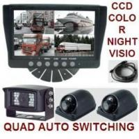 Buy cheap Rear View Backup System-3 CCD Infrared Cameras & 7