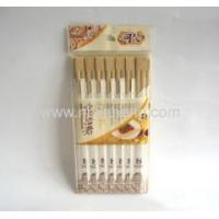 China TWINS Natural bamboo chopsticks with paper wrapped on sale