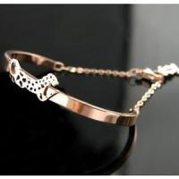 Quality Cartier PANTHERE Bracelet with a Panther Motif Leopard for sale
