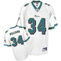 China Miami Dolphins Miami Dolphins R.Williams 34# White Jerseys on sale