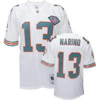 China Miami Dolphins Miami Dolphins Dan Marino 13# White NFL Throwback Jerseys on sale