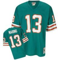 China Miami Dolphins Miami Dolphins Dan Marino 13# Green NFL Throwback Jerseys on sale