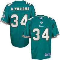 China Miami Dolphins Miami Dolphins R.Williams 34# Green Jerseys on sale
