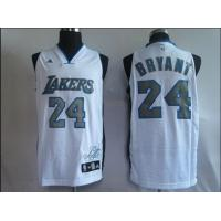 Quality NBA Jersey Los Angeless Lakers 24# Kobe Bryant white for sale
