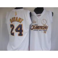 Buy cheap NBA 2010 back to back 24# white bryant from wholesalers