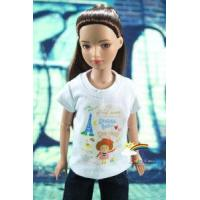 """Quality 12"""" Tonner Marley Doll Outfit White T-Shirt Tee Tower for sale"""