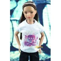 """Quality 12"""" Tonner Marley Doll Outfit White Tee Skull Graffit for sale"""