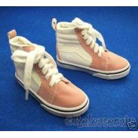 China Dollfie SD13 Boy Shoes Hip Hop Sneakers Suede Pink/W on sale
