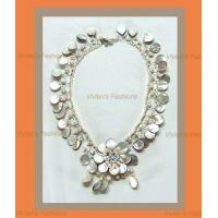 Buy cheap Choker with Brooches - Mother of Pearl from wholesalers