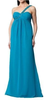 Maternity Cocktail Dress on New  Jane One Shoulder Formal Maternity Maxi Dress   Also In Black