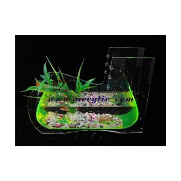 mini_built_in_filter_acrylic_fish_tank_aquarium_with_led_light_and_a ...