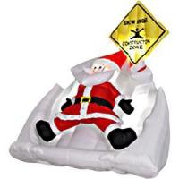 Quality Inflatable Santa Making Snow Angel for sale