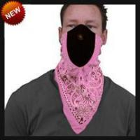 Quality Neoprene Face Masks Pink Paisley NeoDanna for sale