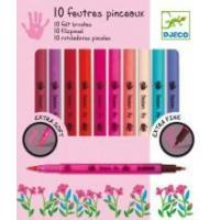 Quality Arts & Crafts Djeco Felt Brushes Girl for sale