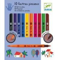 Quality Arts & Crafts Djeco Felt Brushes Classic for sale