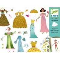 Quality Arts & Crafts Djeco Paper Dolls - Fancy Dresses for sale