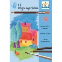 Quality Arts & Crafts Djeco Watercolor Pencils - Classic Colours for sale