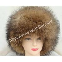 China Raccoon Fur Hat on sale