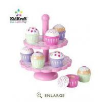 Quality Cupcake Stand Set KidKraft 63156 for sale