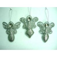 Quality Silver Glitter Acrylic Angel(274948) for sale