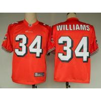 China NFL Jerseys Miami Dolphins 34 Williams orange on sale