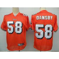 China NFL Jerseys Miami Dolphins 58 Dansby orange on sale