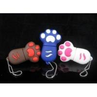 China Naughty Cat's Claws usb drive Cute USB Flash Drives on sale