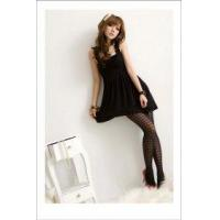 Buy cheap Flower Strap Cloth Dress- black from wholesalers
