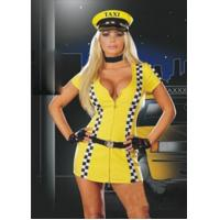 China Sports Costumes wholesale costumes yellow sexy taxi cotume on sale