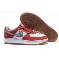 Quality Nike Low Tops Air Force 1 Supreme I/O Manhattan Red White Grey for sale