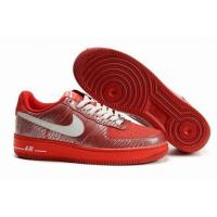 Quality Nike Women Low Tops Air Force 1Beet Swan Challenge Red for sale