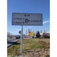 Quality Aluminium alloy warning traffic signs for sale