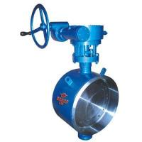 China Double eccentric butterfly valve on sale