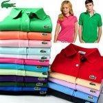 Buy cheap Lot of 2 Lacoste Womens Short Sleeve Polo Shirts from wholesalers