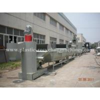 Quality Flake cleaner, label removing, crushing PET bottle Waste Plastic Recycling Machines for sale
