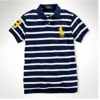 China Polo Ralph Lauren t-shirts man Home Polo Ralph Lauren stripe t-shirts ms-c039-026 on sale