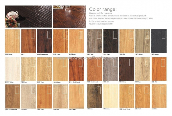 Laminate flooring most popular colors