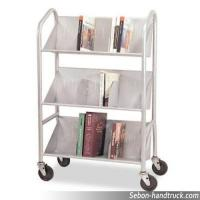 Quality V type RCA-3S-LIB05 book cart for sale