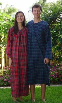 """Buy Stewart Flannel Nightgown 52"""" S-XXX USA at wholesale prices"""