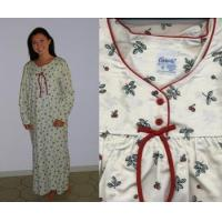 Quality Cherries Flannel Nightgown for sale