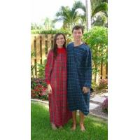 """Quality Cowl Neck Cotton Flannel Nightgown 52"""" S-XXX-Large USA for sale"""