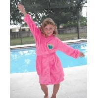 Quality Girls Pink Fleece Robe for sale