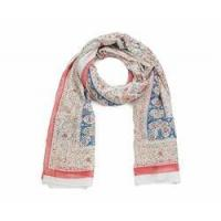 Quality Pink Printed Ladies Scarf for sale