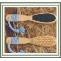 Quality Wooden Foot File with Brush for sale