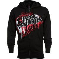 China Metal Mulisha Premier Full Zip Fleece Hoodie  Black on sale