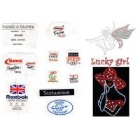 Quality Tagless Labels And Rhinestones for sale